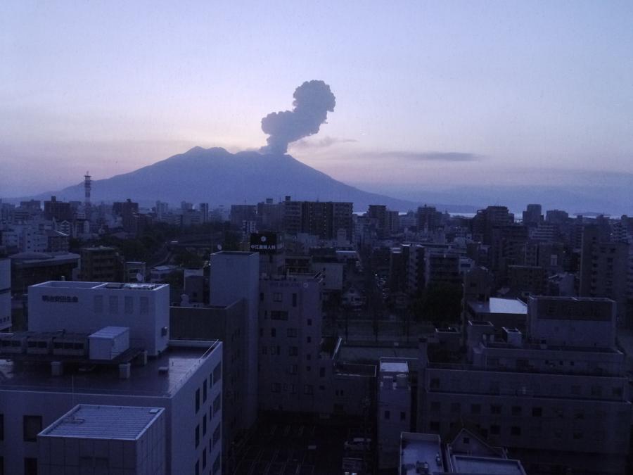 MARIMO_Sakurajima Morgengrauen