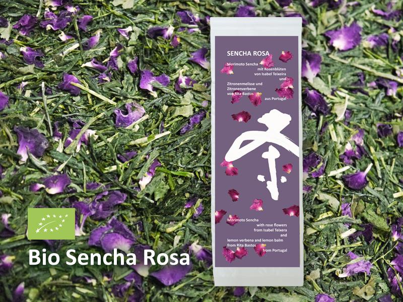 Sencha Rosa Teepackung