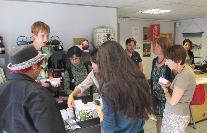 Morimoto Tee Event Frankreich September 2015