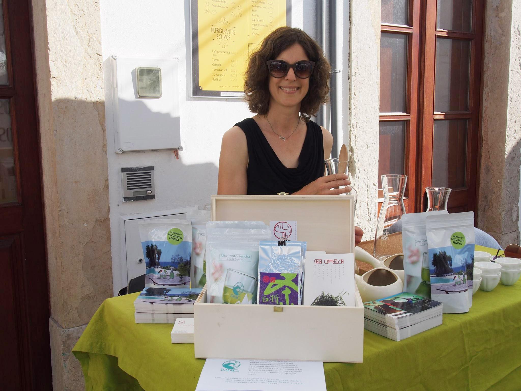 Nina von Camelia beim Mizudashi Event bei Da Villa