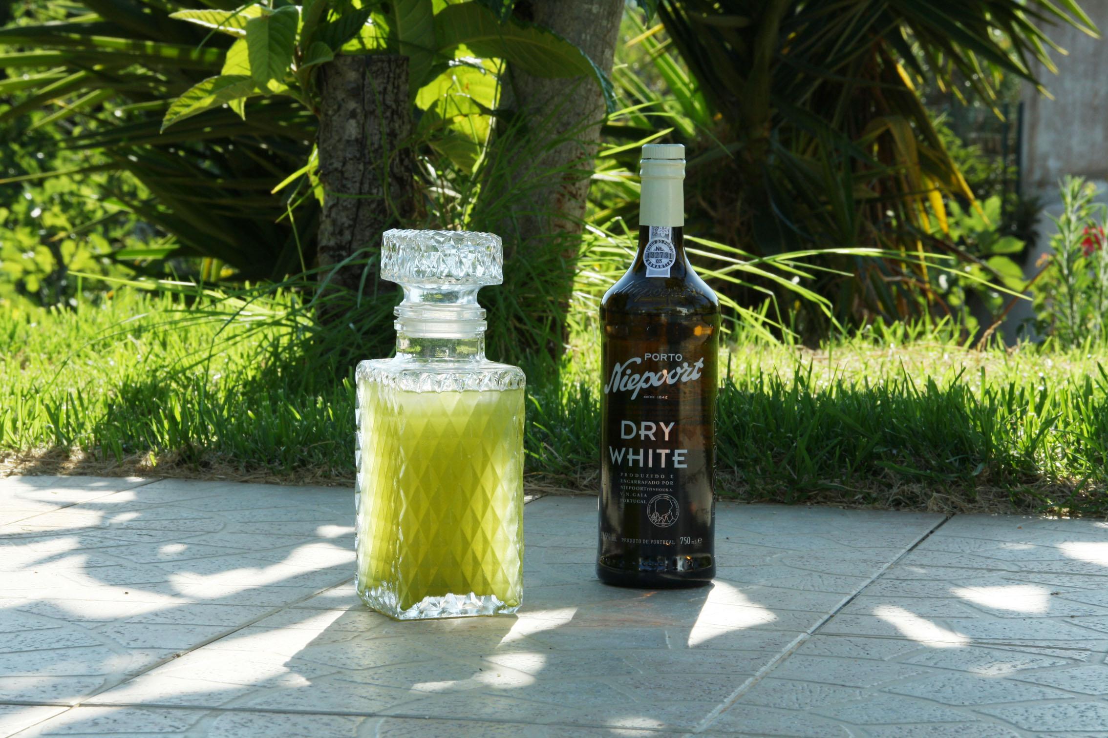Mizudashi Cocktail mit Dry White Portwein von Niepoort