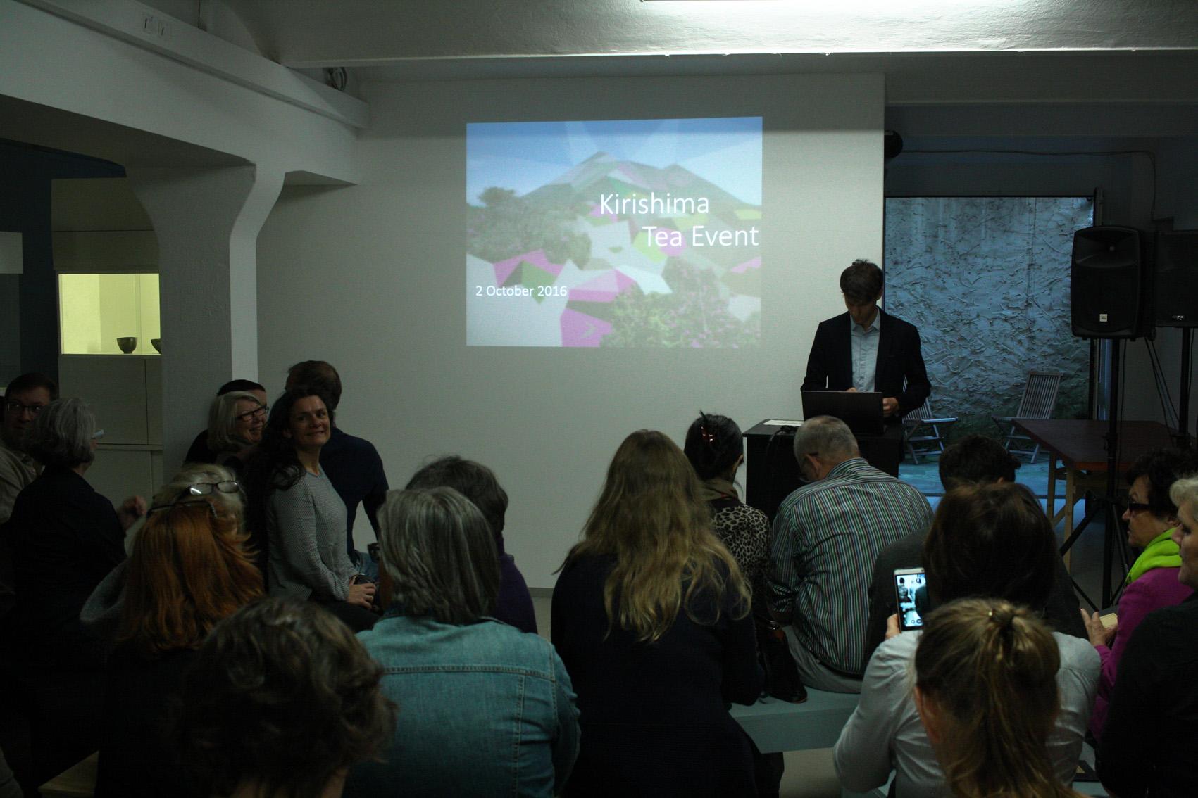 Präsentation beim diesjährigen Kirishima Tee Event