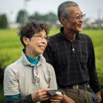 Haruyo und Shigeru Morimoto ganz gerürt von den schönen Gastgeschenken