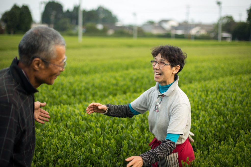 Haruyo und Shigeru Morimoto