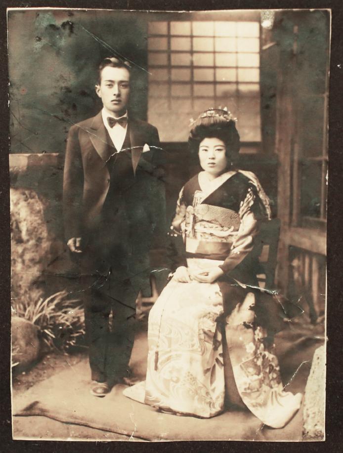 Shutaros Ururgroßvater Kisuke Hayashi – der Gründer des Kirishima Teegartens
