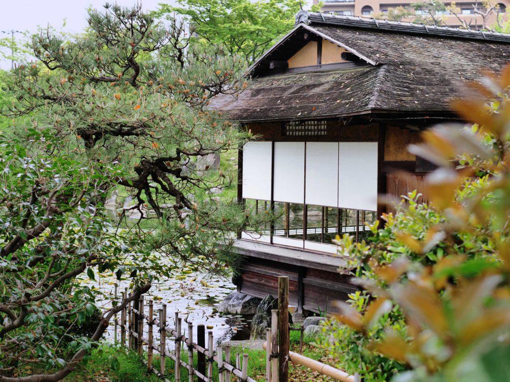 Sochin-kyo Teehaus im Shosei-En
