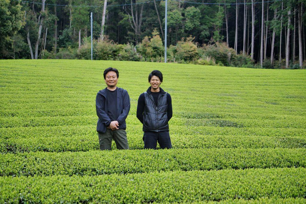 Kimihiko Hayashi (links) und sein Neffe Shuhei Hayashi (rechts)