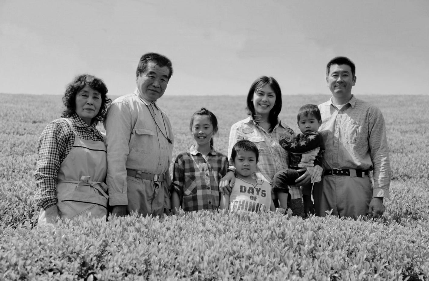 Familie Matsumoto vom Teegarten Sakura-No En
